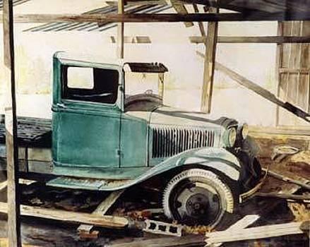 Thirty Something Truck by Kris Killman