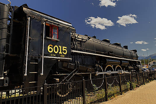 Paul W Sharpe Aka Wizard of Wonders - This is Alberta 11 - Jaspers 6015 Steam Engine