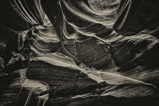 Paul W Sharpe Aka Wizard of Wonders - This is Arizona No. 1A - Slot Canyon
