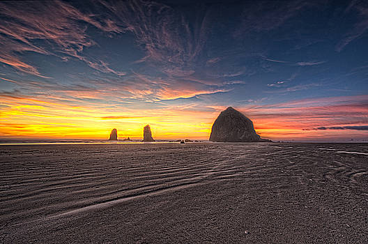 Paul W Sharpe Aka Wizard of Wonders - This is Oregon State 4  - Cannon Beaches Haystack Rock