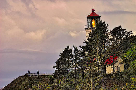 Paul W Sharpe Aka Wizard of Wonders - This is Oregon State No.15 - Heceta Head Lighthouse Close-up