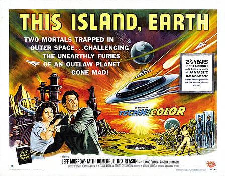 R Muirhead Art - This Island Earth science fiction classic movie