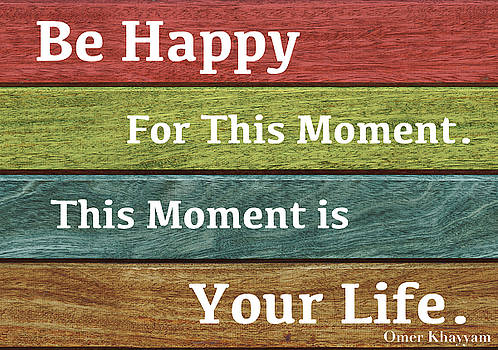 This Moment is Your Life by Zafer Gurel