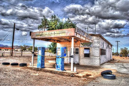 This Old Gas Station  by John Johnson
