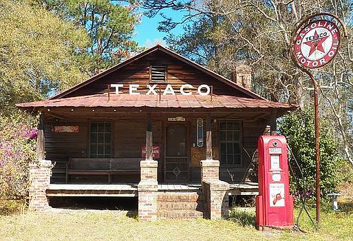 This Old Texaco Station by Melanie Snipes