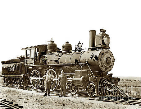 California Views Mr Pat Hathaway Archives - This steam engine No. 1381 4-4-0,
