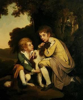 Wright Joseph - Thomas And Joseph Pickford As Children 1779