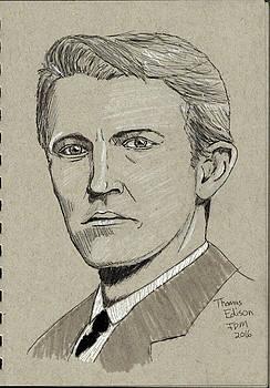 Thomas Edison by Frank Middleton