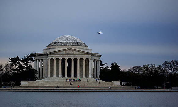 Thomas Jefferson Memorial by Christina Durity