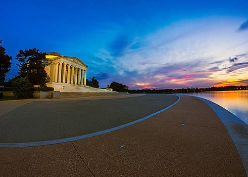 Chris Bordeleau - Thomas Jefferson Memorial Twilight