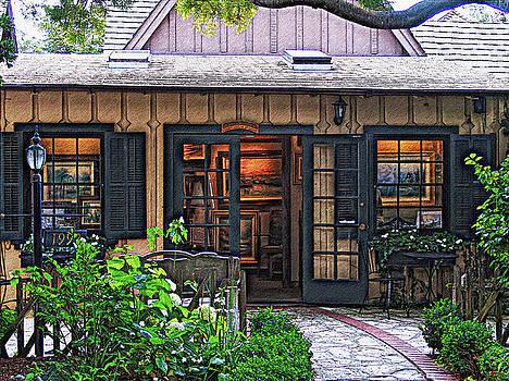 Glenn McCarthy - Thomas Kinkade Garden Gallery Of Carmel