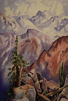 Thomas Moran Sierra Nevadas by Emily Maynard