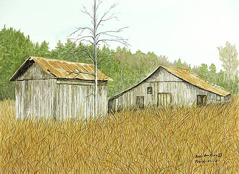 Thompson Barns by Mary Ann King