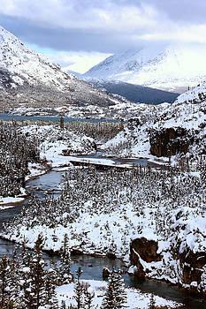 Beth Russell - Thompson Creek Yukon in Winter
