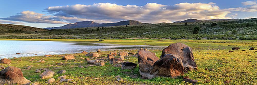 Thompson Peak Panorama by James Eddy