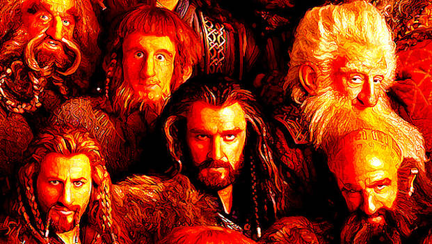 Thorin and gang by Martin James