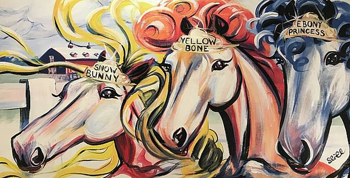 Thoroughbred Dames by Sean Linell Ivy-El