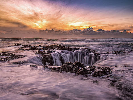 Thor's Well by Bryan Xavier