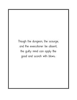 Though the dungeon, the scourge,... by Famous Quotes