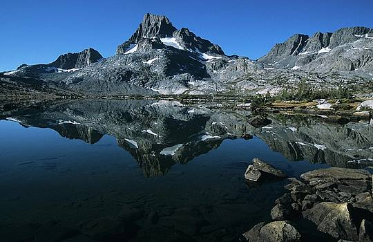 Don Kreuter - Thousand Islands Lake and Reflection of Mount Davis