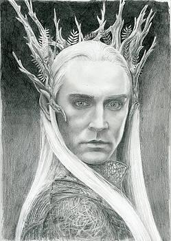 Thranduil the elven king of Mirkwood by Bitten Kari