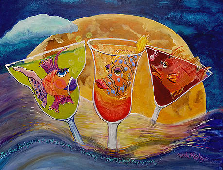 Three Amigos and the Supermoon by Linda Kegley