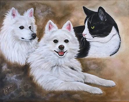 Three Amigos by Dr Pat Gehr