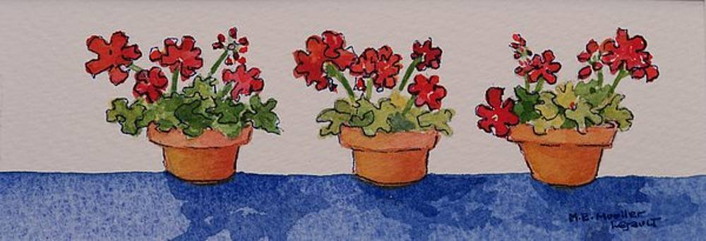 Three Amigos by Mary Ellen Mueller Legault