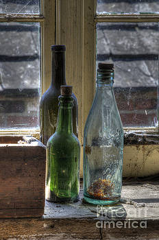 Three bottles by Steev Stamford