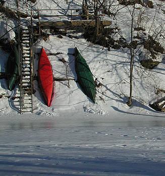 Kathi Shotwell - Three Canoes