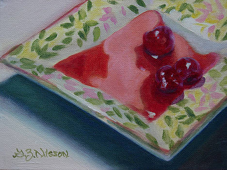 Three Cherries by Gloria Nilsson