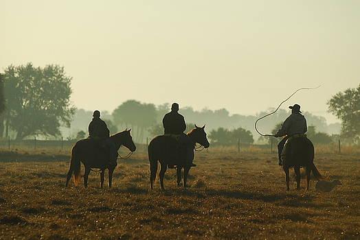 Three Cowboys by Uli Degwert