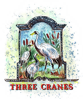 Miki De Goodaboom - Three Cranes In York