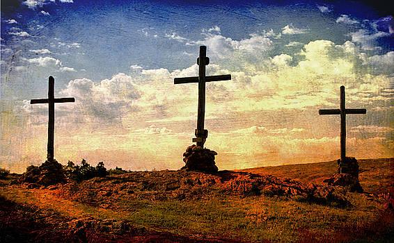 Three Crosses by Katherine Worley