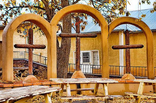 Robert Meyers-Lussier - Three Crosses of El Santuario de Chimayo