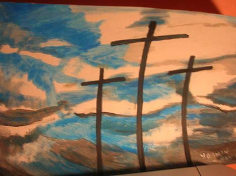 Three Crosses by Zeenath Diyanidh