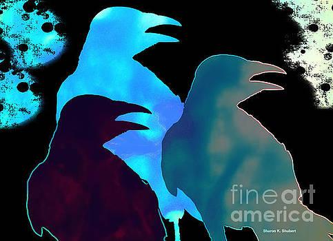 Three Crows by Sharon K Shubert