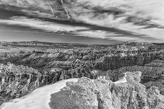 Three D View BW by Mitch Johanson