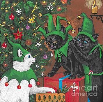 Three Elves by Margaryta Yermolayeva