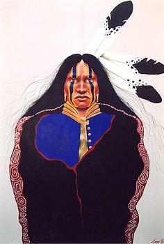Three Feathers by Terry Medaris