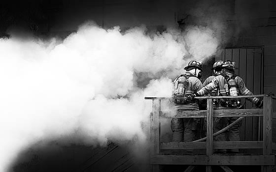 Erin Thomas - Three Firefighters