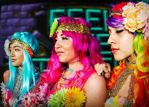 Three Flower Princesses  by Ryan Smith