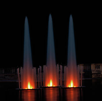 Three Fountains by Larry Jost