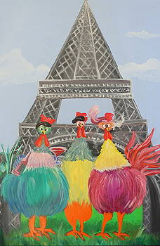 Three French Hens by Lisa Graves