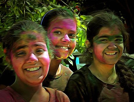 Bliss Of Art - Three Friends