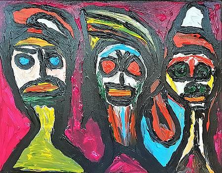 Three Genies 3 wishes by Darrell Black