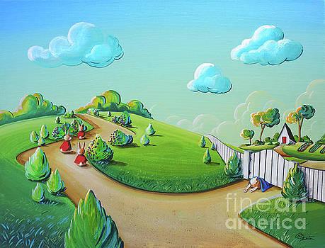 Three Good Little Bunnies, One Naughty Bunny by Cindy Thornton