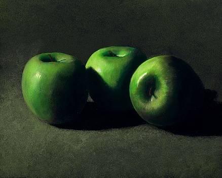 Frank Wilson - Three Green Apples