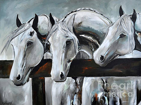 Three Greys by Cher Devereaux