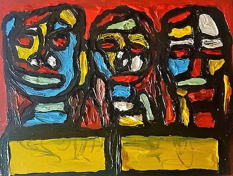 Three in focus by Darrell Black